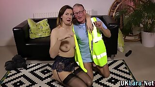 Stockings brit pounded