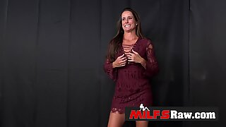 Mummy Sofie arrives to photoshoot to be banged hard and deep
