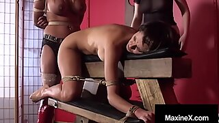 Busty Cambodian Cougar Maxine X Bound & Silenced With Crazy Mexican Ho!
