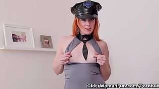 european cougar Michelle Russo looks totally arresting