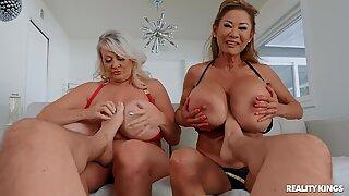 Bigly BBW Boobies a.k.a. The JUGGERNAUTS rub feetReport this video