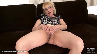 Granny hardcore interracial anal fuck grandma pussy sex and ass licking rough